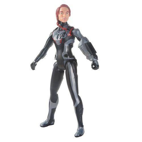 Boneco Titan FX Vingadores Avengers Ultimato – Viúva Negra 30 cm Articulada  - Hasbro  - Doce Diversão