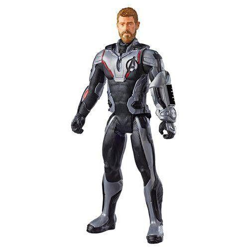 Boneco Titan FX Vingadores Ultimato – Thor e Capitão América 30 cm Articulado - Hasbro  - Doce Diversão
