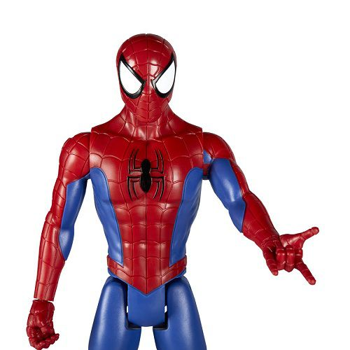 Boneco Titan Hero Power FX Spiderman Articulado 30 cm - Hasbro  - Doce Diversão