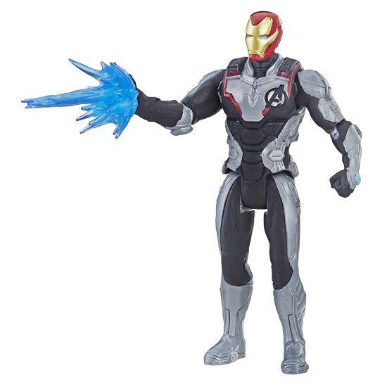Boneco Vingadores Ultimato Deluxe Homem de Ferro 15 cm Articulado Hasbro  - Doce Diversão