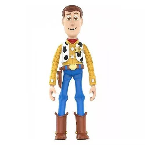 Boneco Woody Toy Story 4 – 30 cm  Com Som Fala 14 Frases Portugues - Toyng  - Doce Diversão