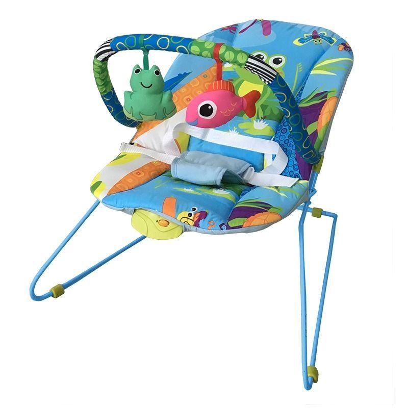 Cadeira Bebê Descanso Vibratória Musical Lite Aqua Baby Style  - Doce Diversão