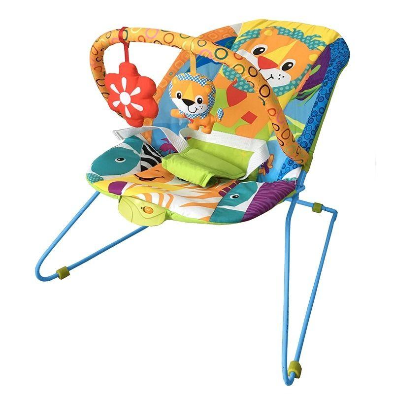 Cadeira Bebê Descanso Vibratória Musical Lite Safari Baby Style  - Doce Diversão