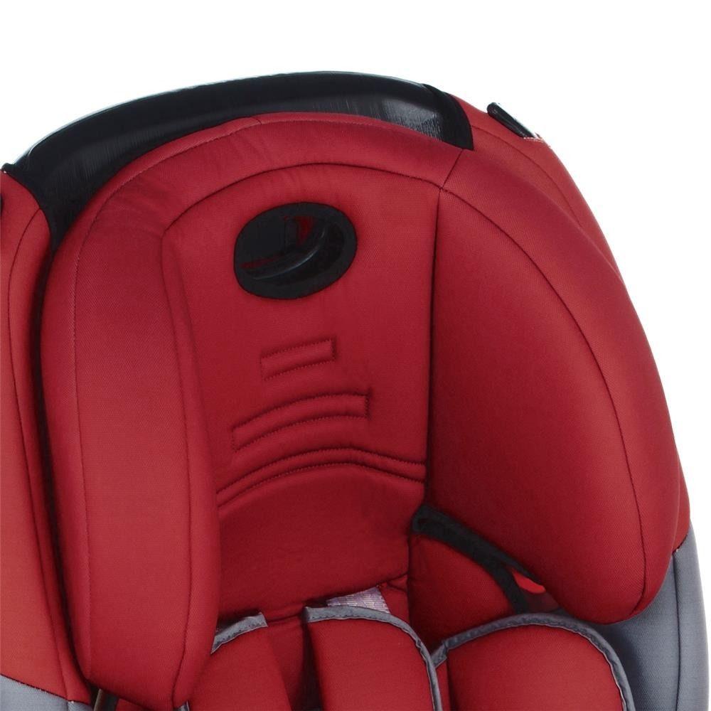 Cadeira P/ Automovel Evolve Reclinavel  9 a 36 Kg vermelho Cosco  - Doce Diversão