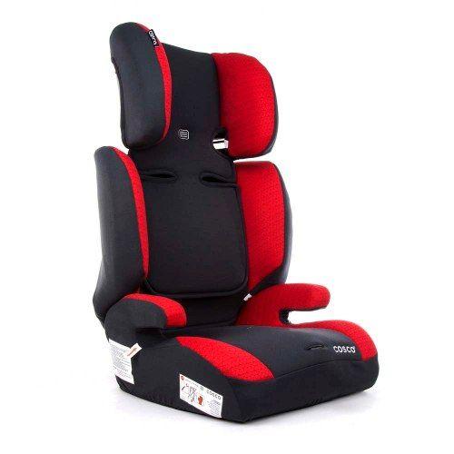 Cadeira Para Automóvel Cosco Prisma 9 A 36 Kg Cinza/Vermelho   - Doce Diversão