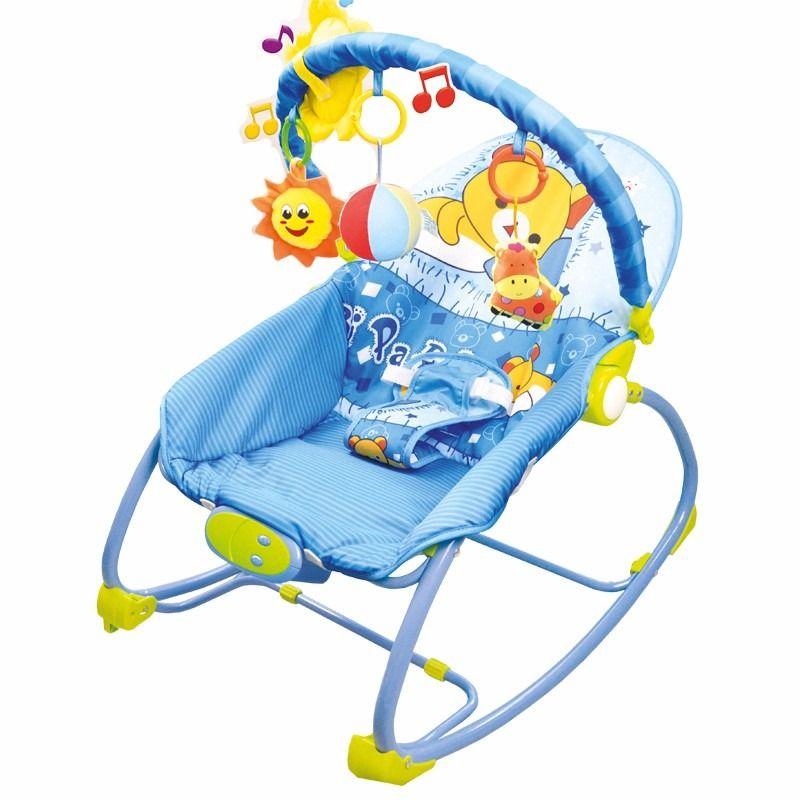 Cadeira Repouso Balanço Musical Vibratória Móbile 18kg Verão Baby Style  - Doce Diversão
