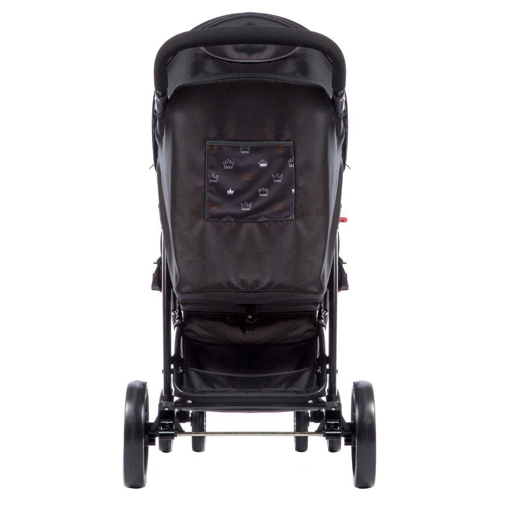 Carrinho Berço Travel System Cosco Nexus Ts + bebe Conforto Preto  - Doce Diversão