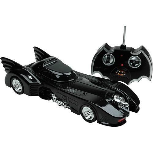 Carrinho R/C Batmóvel Batman Returns 7 Funções Bateria recarregável  Candide  - Doce Diversão