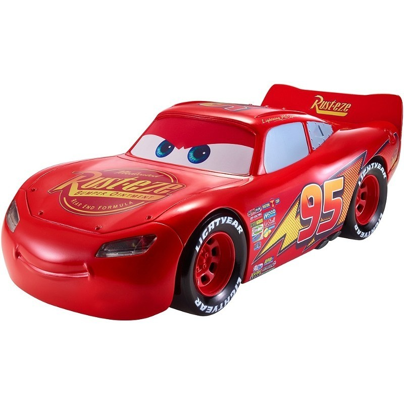 Carros 3 Disney Relampago Mcqueen Interativo + 65 sons - Mattel  - Doce Diversão