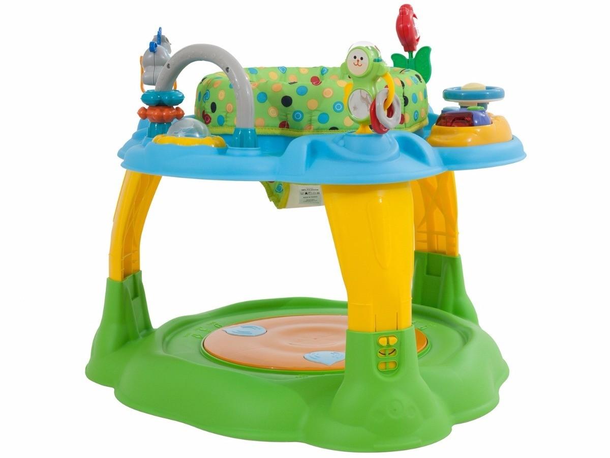 Centro de Atividade Playmove Gira 360 Blue Green Burigotto  - Doce Diversão