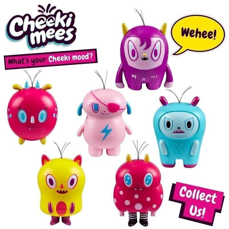 Cheeki Mees Serie 1 Kit Com 6 – Aline , Bia, Billy, Dogão, Bob ,Paty - Candide  - Doce Diversão