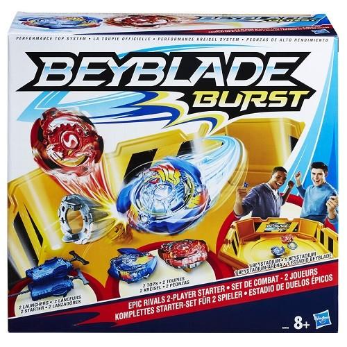 Conjunto Beyblade Kit Duelos Épicos - Hasbro   - Doce Diversão