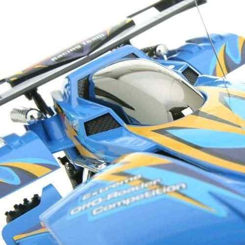 Carrinho Extreme Rádio Controle 7 Funções Azul Bateria Recarregavel - Candide  - Doce Diversão