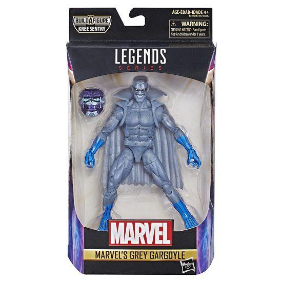 Figura Legends Series Build Filme Capitã Marvel Grey Gargoyle 16 cm Articulado Hasbro  - Doce Diversão