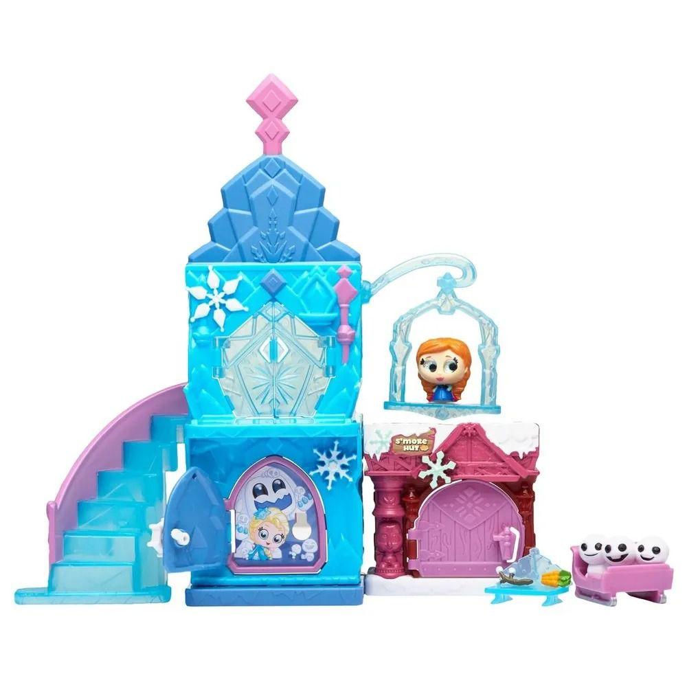 Doorables Disney Playset Castelo Gelo Da Frozen Com Personagem DTC  - Doce Diversão