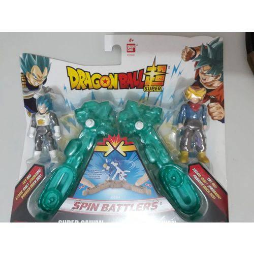 Dragon Ball Super - Kit Batalha Super Saiyajin VS Blue Vegeta Trunks - Brinquedos Chocolate  - Doce Diversão