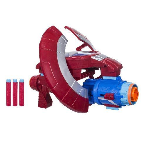 Escudo lançador Nerf Capitão America Vingadores Guerra Infinita  Hasbro  - Doce Diversão