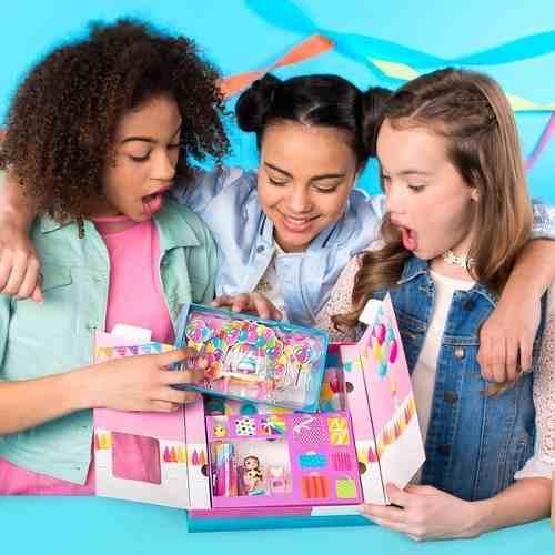 Festa Surpresa Na Caixa Party Pop Teenies Sunny    - Doce Diversão