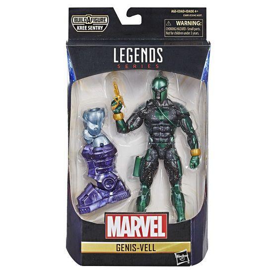 Figura Legends Series Build Filme Capitã Marvel Genis Vell 16 cm Articulado Hasbro  - Doce Diversão