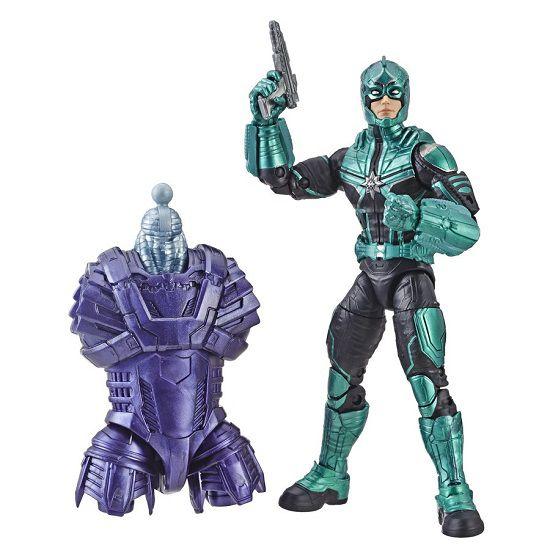 Figura Legends Series Build Filme Capitã Marvel Yon-rogg 16 cm Articulado Hasbro  - Doce Diversão