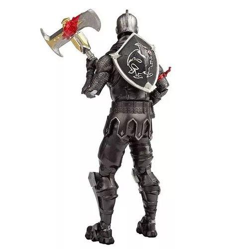 Fortnite Boneco de Ação Black Knight 17 cm e 22 Articulações - Fun Divirta-se  - Doce Diversão