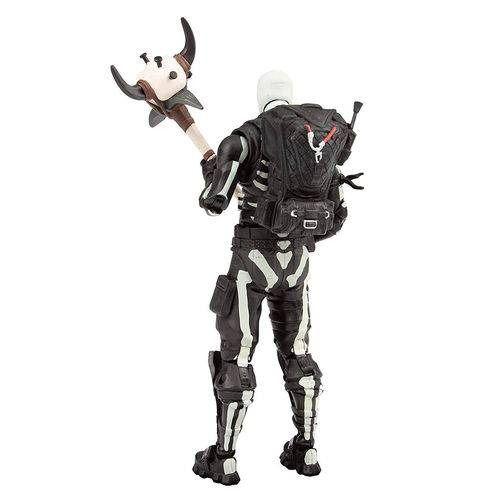 Fortnite Boneco de Ação Skull Trooper 17 cm e 22 Articulações - Fun Divirta-se  - Doce Diversão