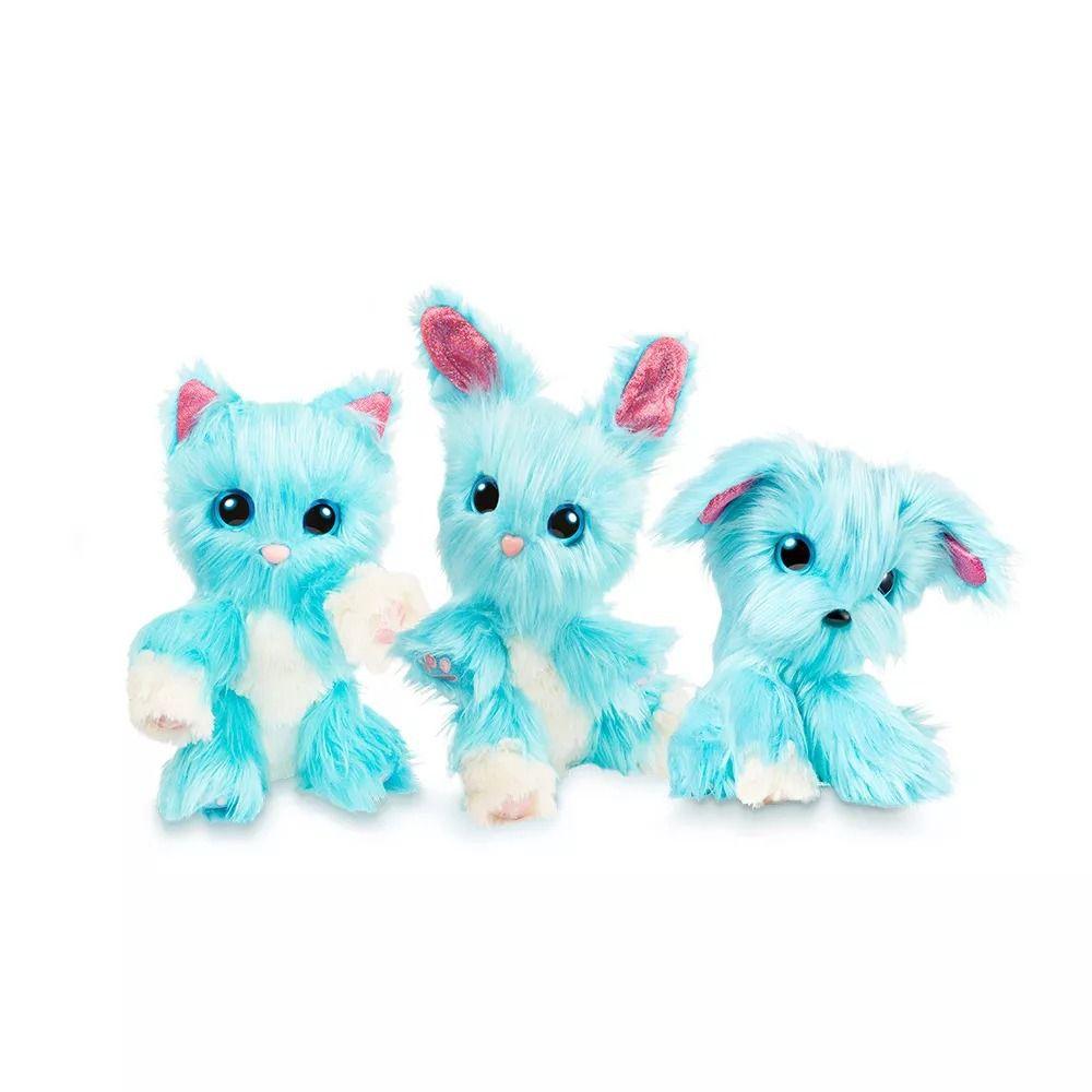 Fur Balls Pets Adotados Surpresa Azul – Lave,Cuide ,Ame - Fun  - Doce Diversão