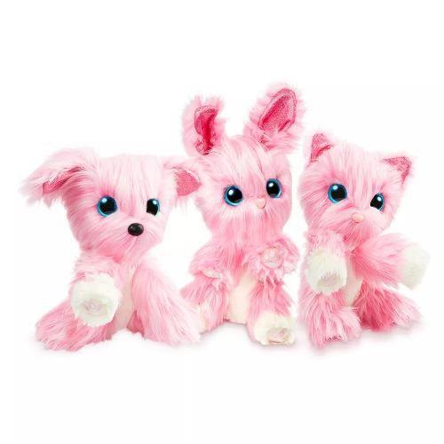 Fur Balls Pets Adotados Surpresa Rosa – Lave,Cuide ,Ame - Fun  - Doce Diversão