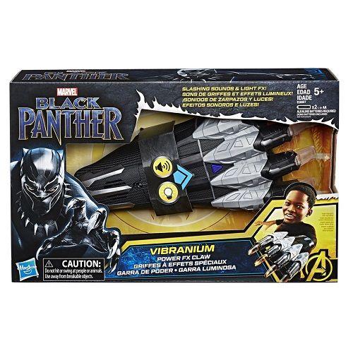 Garra Eletronico Com Som Luz Pantera Negra Vingadores Hasbro  - Doce Diversão