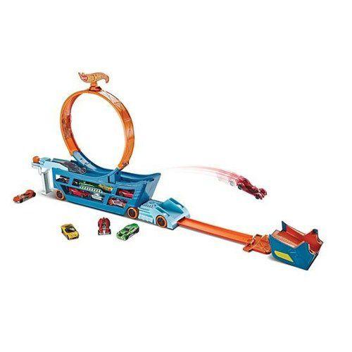 Hot Wheels - Caminhão Lançador de Manobra Radical - Mattel   - Doce Diversão