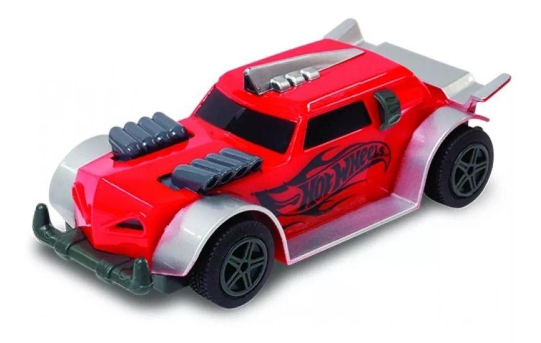 Hot Wheels Track Set Pista Com 286 cm - 2 carrinhos com controle - Multikids  - Doce Diversão