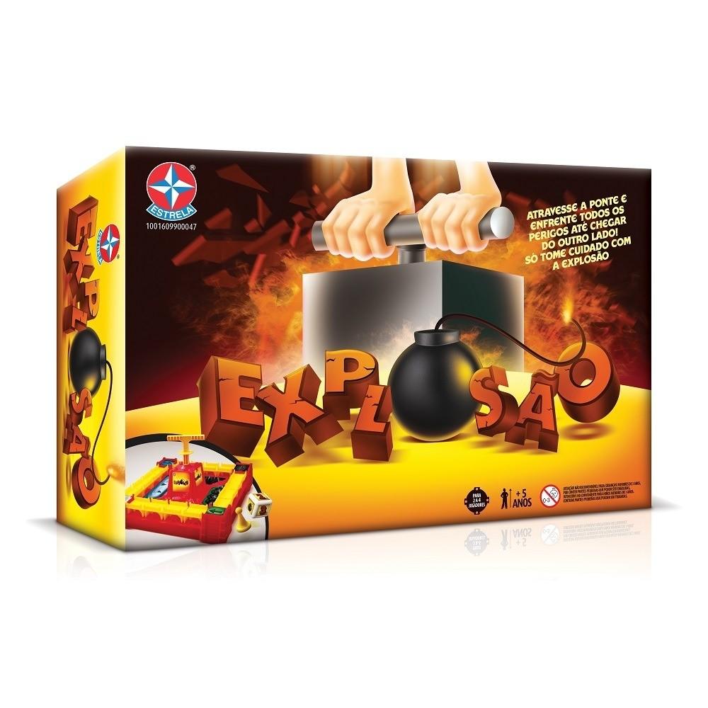 Jogo Explosão - Estrela   - Doce Diversão