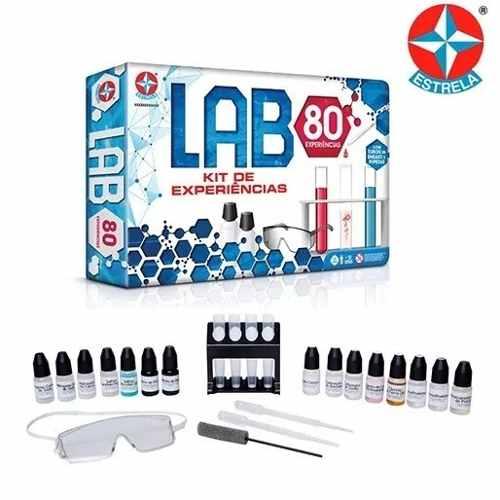 Jogo Kit Experiências Lab 80 Experiências Estrela  - Doce Diversão