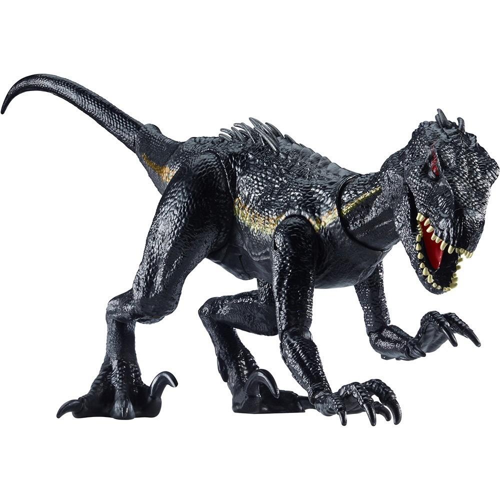 Jurassic Word Dino Vilão Indoraptor - Super Articulado 30cm -  Mattel  - Doce Diversão