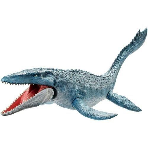 Jurassic World - Mosasaurus - Textura Real - 71cm - Mattel   - Doce Diversão