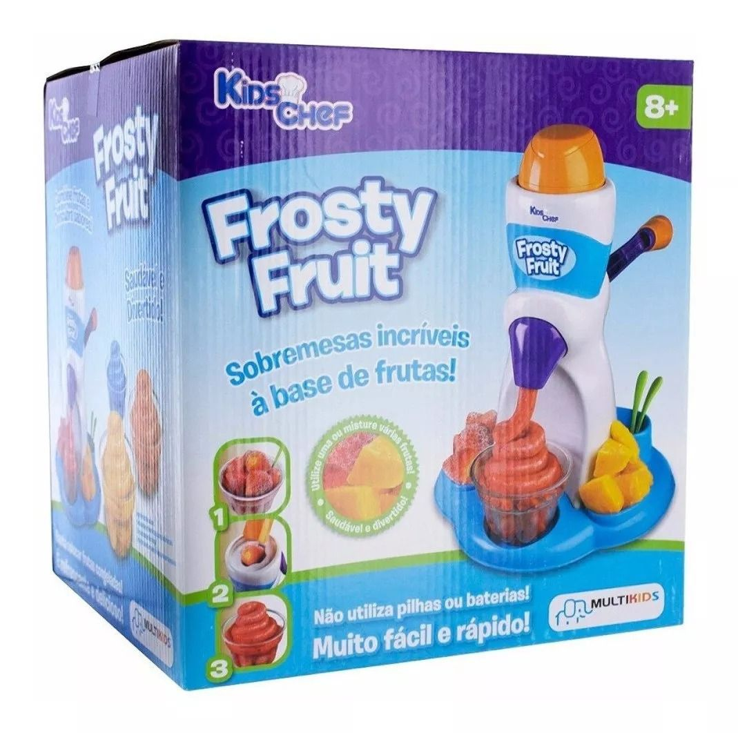 Kids Chef Frosty Fruit Maquina De Fazer Sorvete Frozen - Multikids  - Doce Diversão