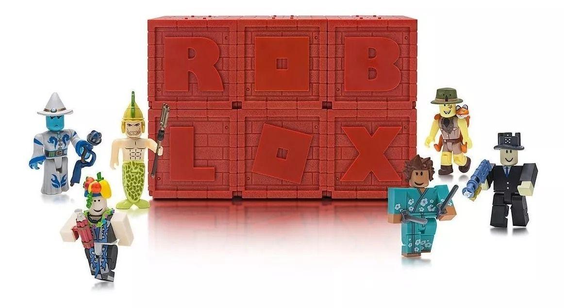 KIT 5 Cubos Roblox Serie 4 - Figura Surpresa Com Acessório Mistério – Brinquedos Chocolate  - Doce Diversão
