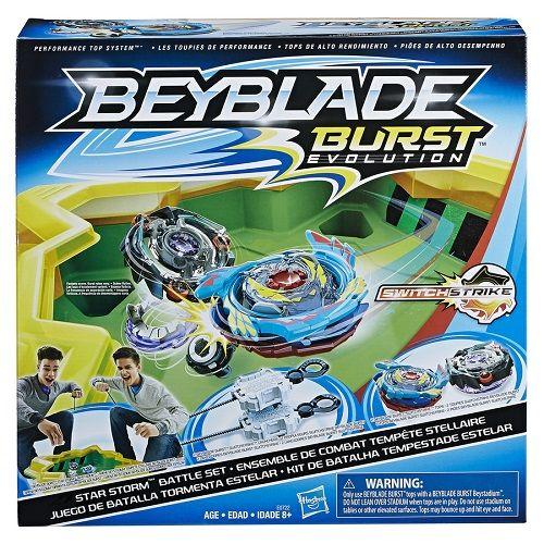 Kit Bey Blade Star Storm Batalha Tempestade Estelar  Hasbro  - Doce Diversão