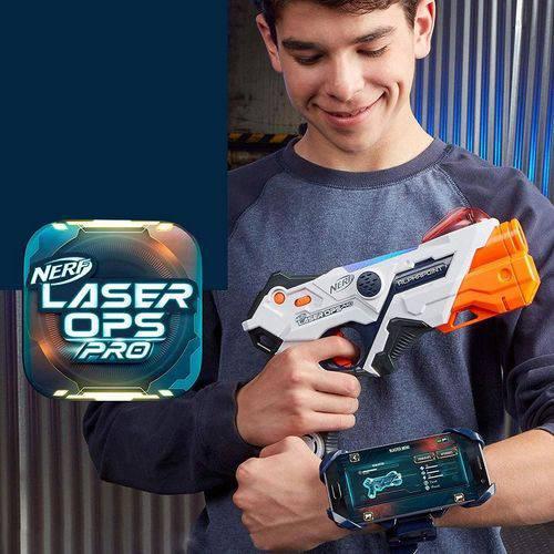 Kit Com 2 Lançador Nerf Laser Ops Pro AlphaPoint Com APP Hasbro  - Doce Diversão