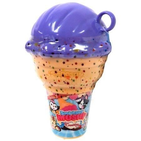 Kit Surpresa - Smooshy Mushy - Série 3 - Sorvete C/ 1 Cone - Toyng  - Doce Diversão