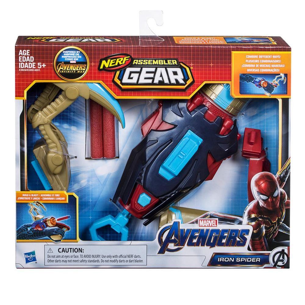 Lançador Nerf Assembler Gear Spider Man Vingadores Ultimato – Hasbro  - Doce Diversão