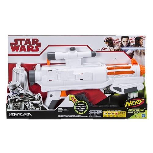 Lançador Nerf Glowstrike Star Wars VIII Laser Capitao Phasma- Hasbro  - Doce Diversão