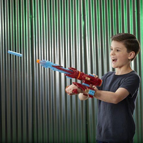lançador Nerf Homem de Ferro Vingadores Guerra Infinita  Hasbro  - Doce Diversão