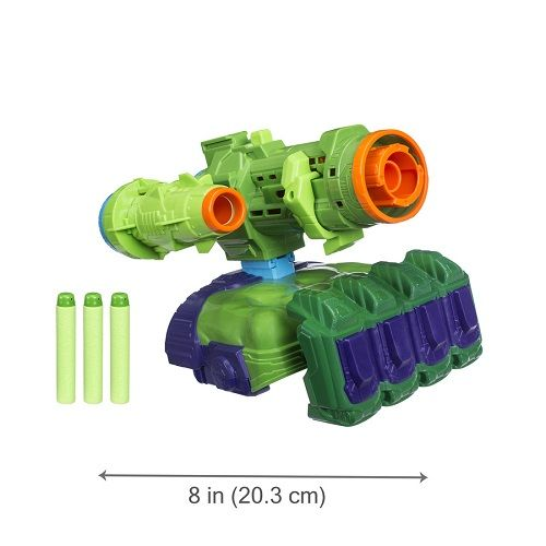 Lançador Nerf Hulk Vingadores Guerra Infinita  Hasbro  - Doce Diversão