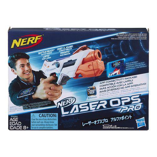 Lançador Nerf Laser Ops Pro AlphaPoint Com APP Hasbro  - Doce Diversão