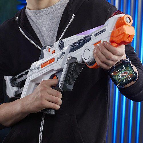 Lançador Nerf Laser Ops Pro DeltaBurst Com APP Hasbro  - Doce Diversão