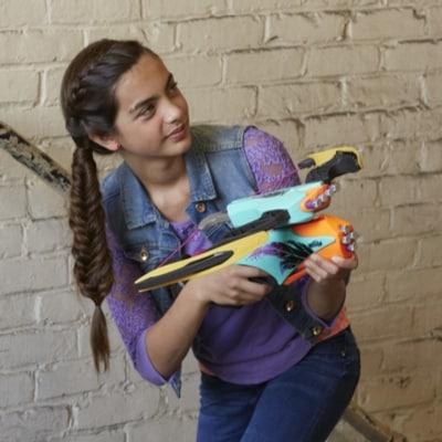 Lançador Nerf Rebelle Combow Accustrike – 2 em  1 - Hasbro  - Doce Diversão