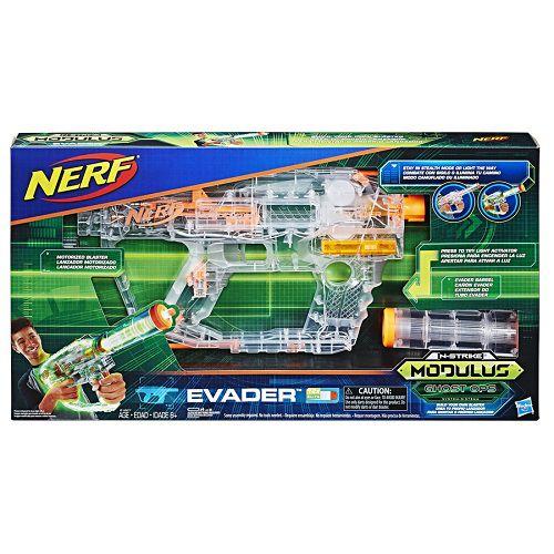 Lançador Nerf Strike Modulus Ghost Ops Evader Motorizado Hasbro  - Doce Diversão