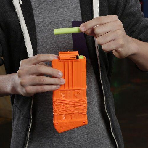 Lançador Nerf Strike Zombie Revreaper Pente 10 dardos  Hasbro  - Doce Diversão