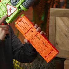 Lançador Nerf Zombie Strike - Revoltinator Motorizado - Com Som e Luzes Led – Hasbro  - Doce Diversão